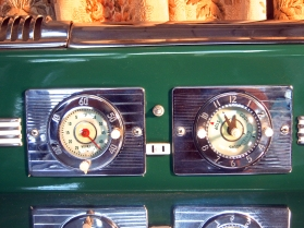 close up of timer clock and outlet