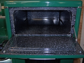 Close-up Warming Oven