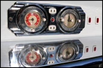 Regan Stove clock timer pre-restoration
