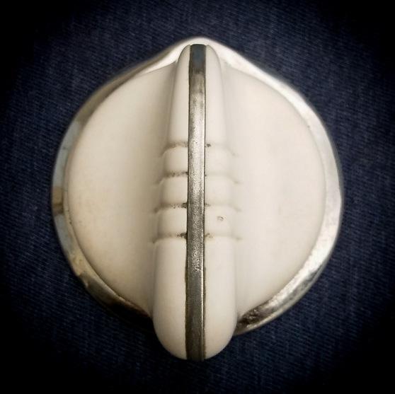 Wedgewood knob, no shaft. $30 each